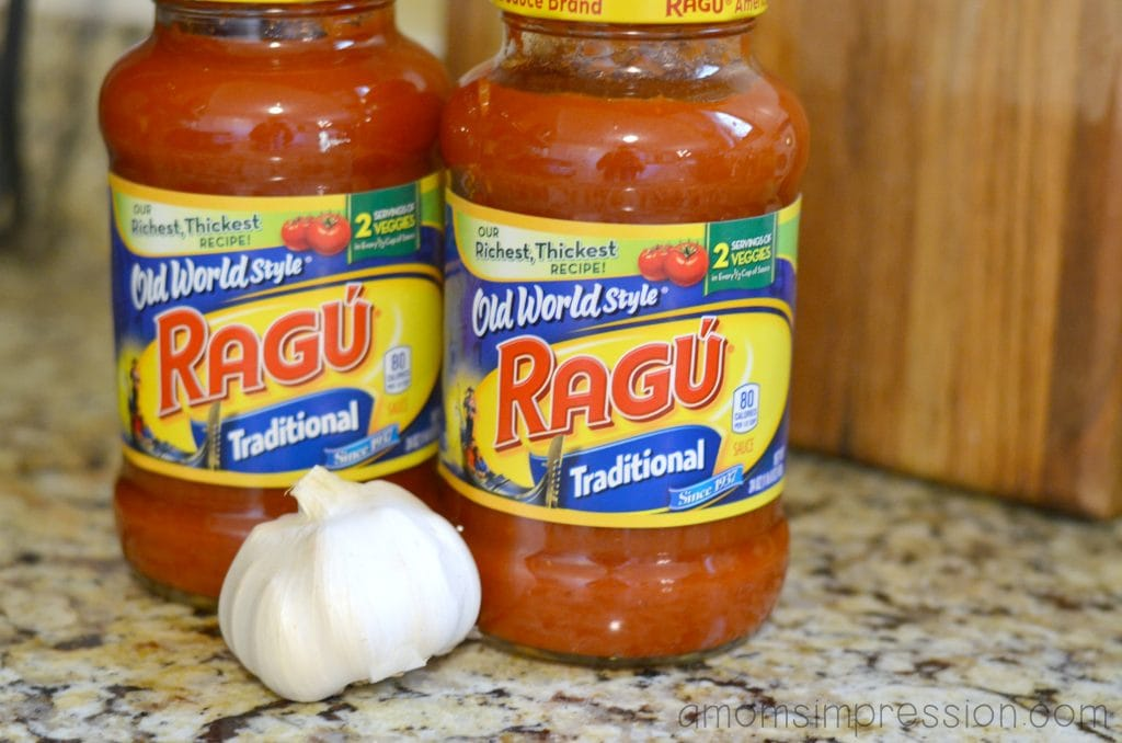 how to make spaghetti with ground beef and ragu
