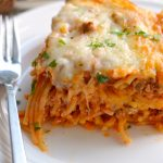 Our Family Favorite –  Baked Spaghetti Recipe