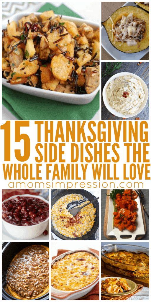Add some new Thanksgiving side dishes to your feast this year with these wonderful Thanksgiving side dish ideas that the whole family will love! These are all great for using up all that fall squash and produce you want to eat before you lose it!