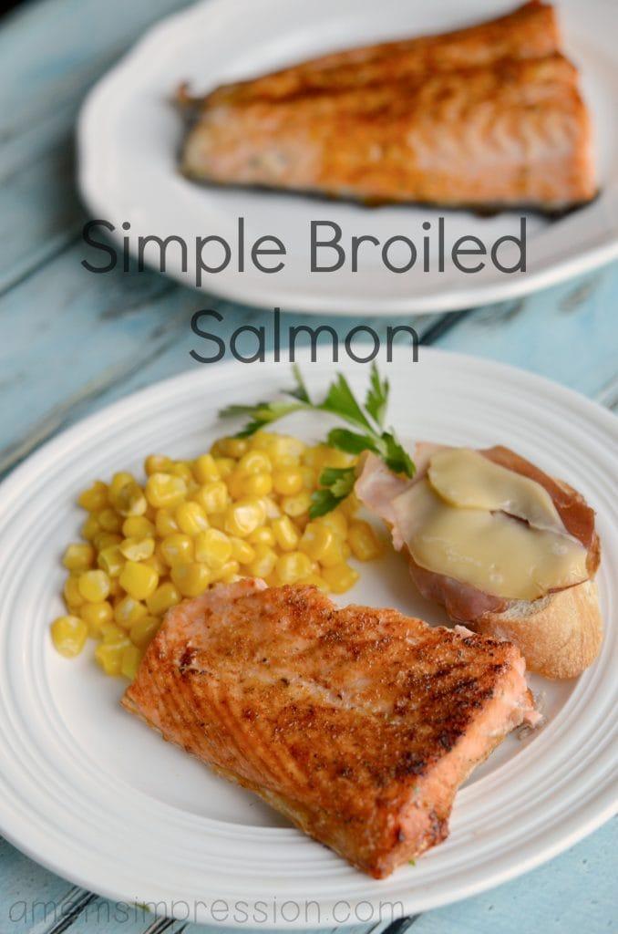 Broiled Salmon Hero