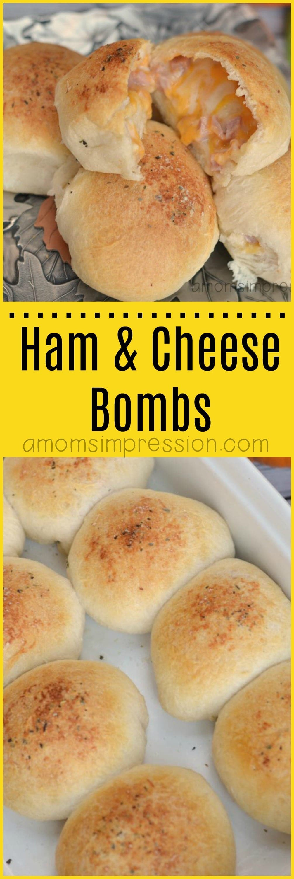 Looking for an alternative to ham and cheese sliders? These ham and cheese bombs recipes are delicious and perfect as an appetizer for your next party. They are simple and easy to bake in the oven and everyone loves them.