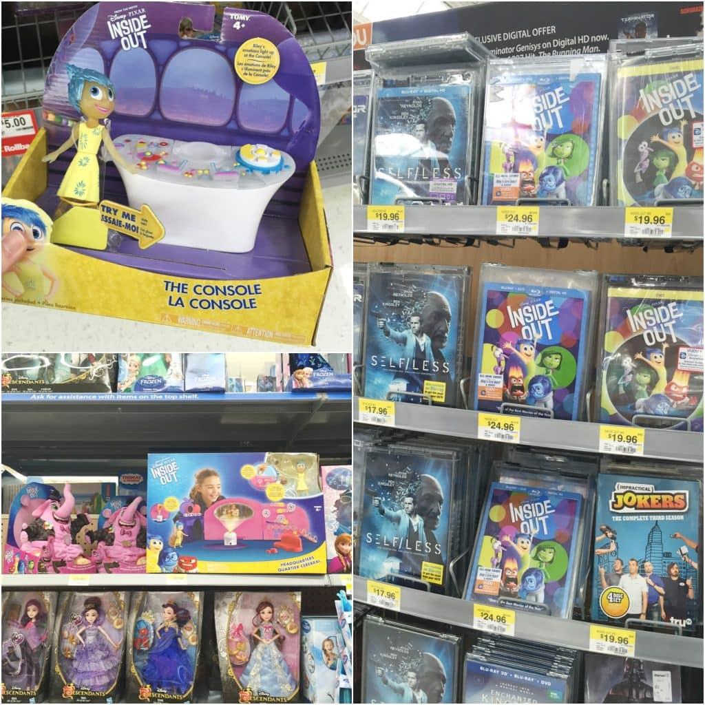 InsideOut in Walmart