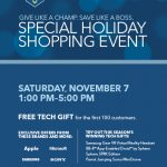 Special Holiday Shopping Event at Best Buy!