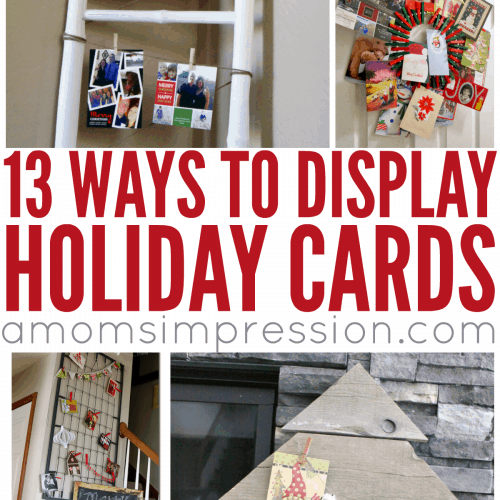 Ways to Display Your Holiday Cards