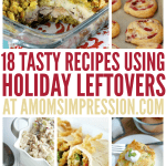 Holiday Leftovers Recipes