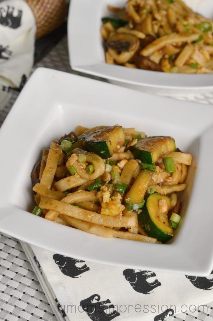 plain spicy noodles
