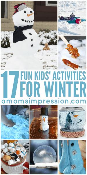 Kid Winter Activities