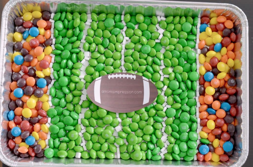 Candy Football Field