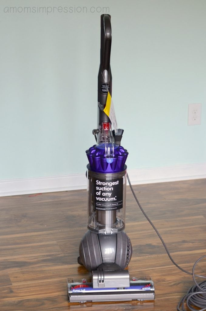 the new dyson ball animal vacuum a mom 39 s impression resource for busy parents. Black Bedroom Furniture Sets. Home Design Ideas