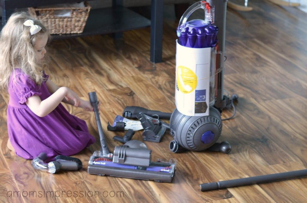 Setting up the dyson