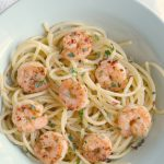 Simple Shrimp Scampi Pasta