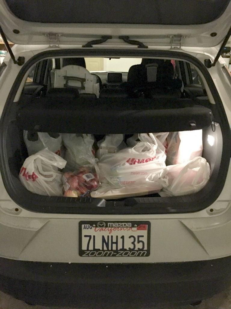 Trunk Space Mazda