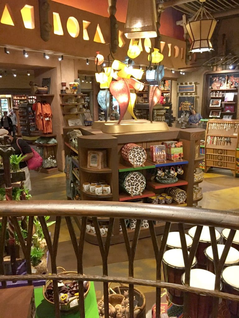 The Animal Kingdom Lodge Giftshop