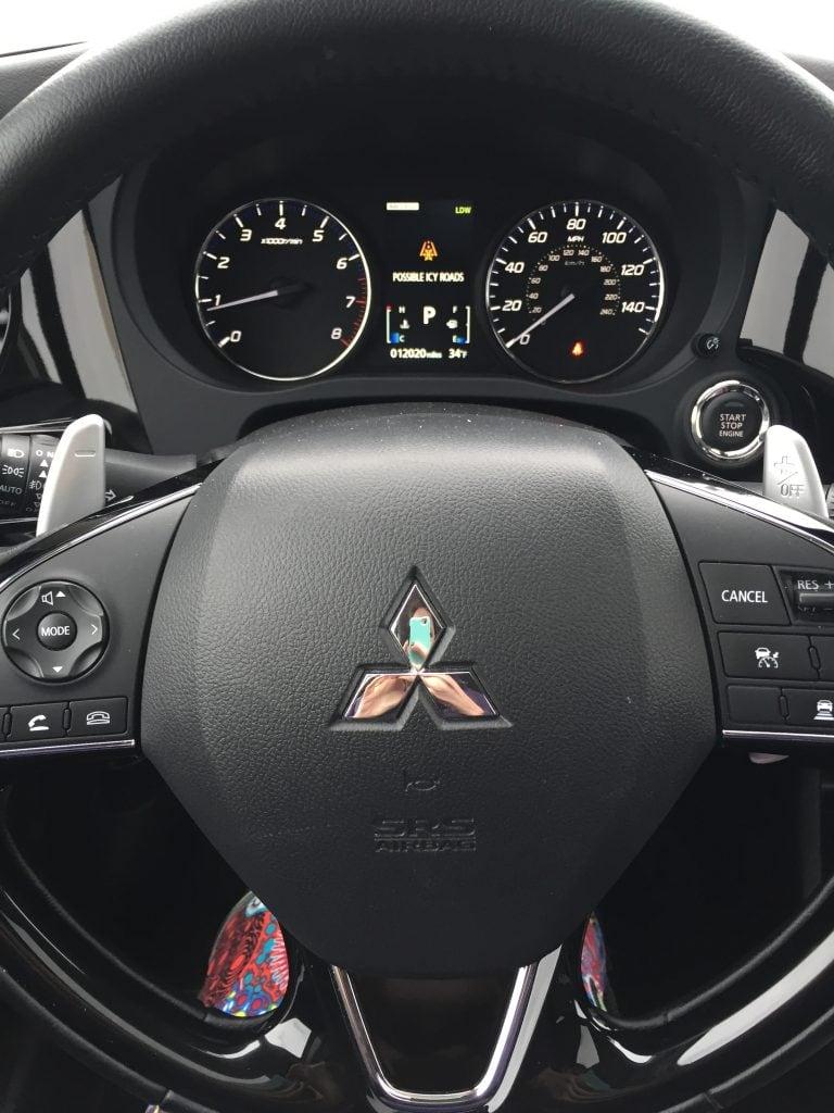 Outlander Steering Wheel