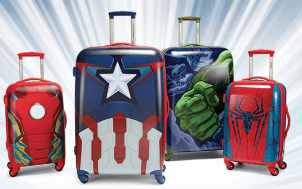 Marvel Luggage