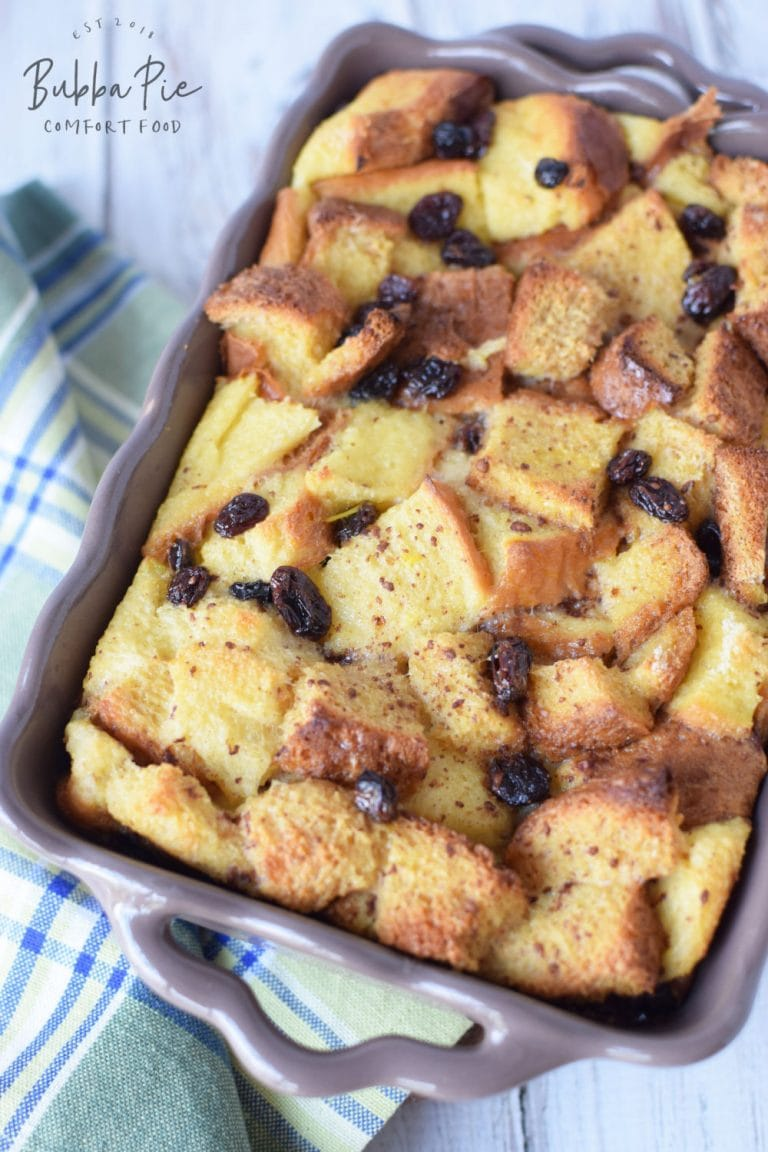 bread pudding for sunday brunch