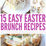 15 Easy Easter Brunch Recipes