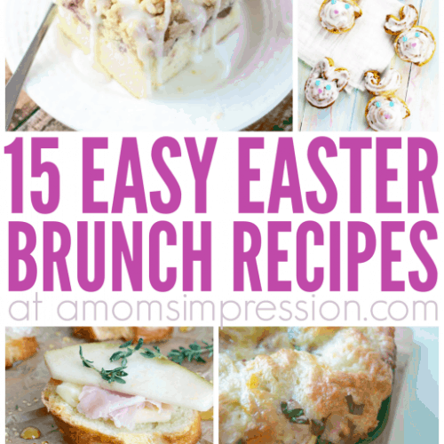 Add some of this wonderful Easter brunch food to your menu this year. These Easter brunch menu ideas are easy to make and are sure to please the whole family!