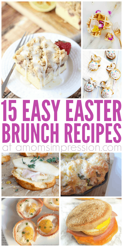 Add some of this wonderful Easter brunch food to your menu this year. These Easter brunch recipes are easy to make and are sure to please the whole family!