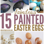 15 Fabulous Painted Easter Eggs