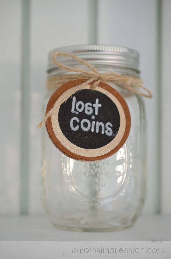 Lost Coins Jar
