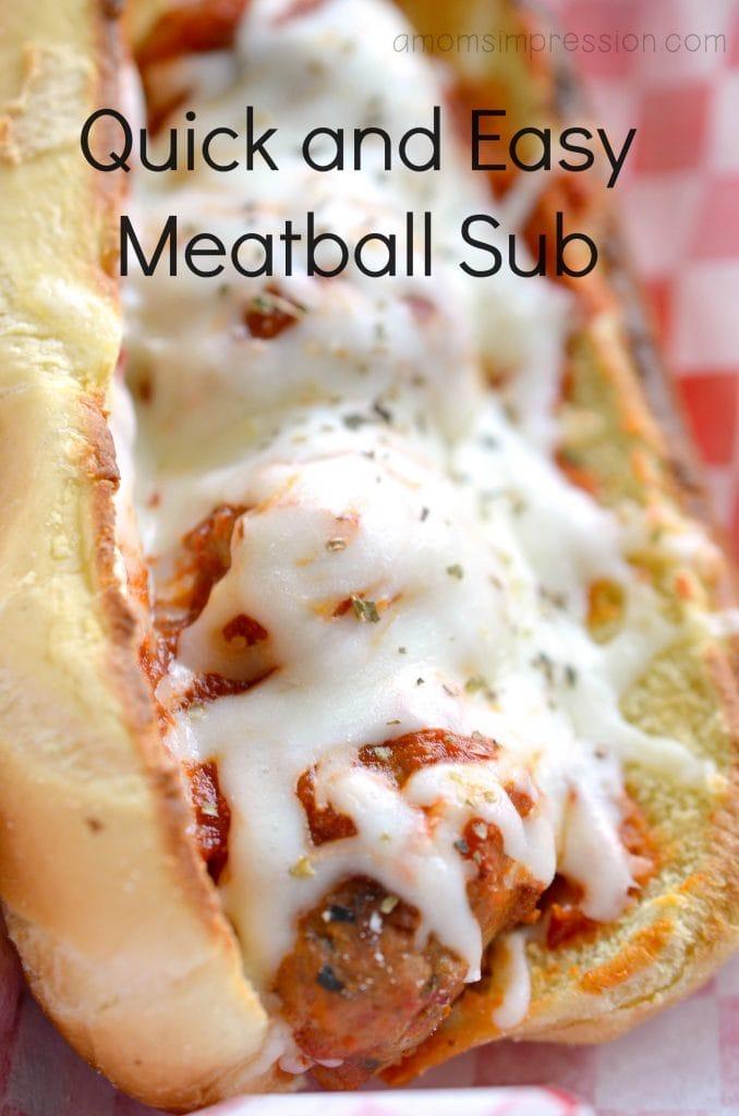 Meatball Sub hero