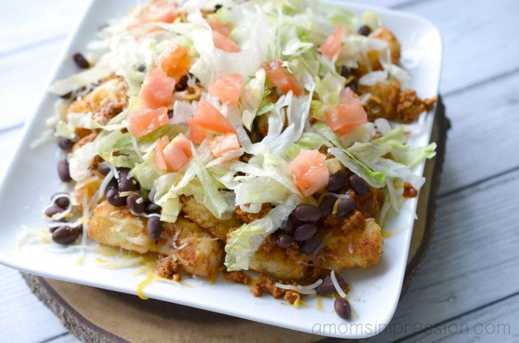 Totchos mexican style