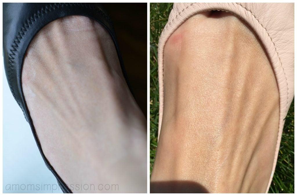 Crepe Erase Foot Comparison