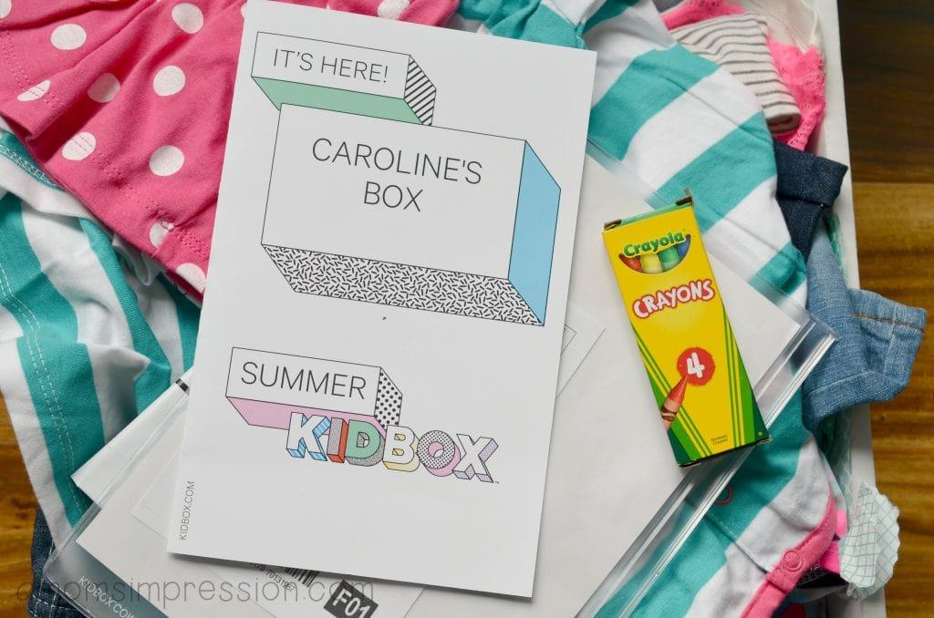 KidBox Delivery Service Custom Box
