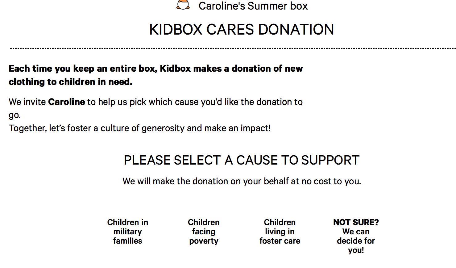 Kidbox Cares