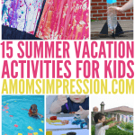 summer vacation activities for kids