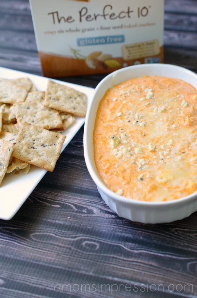 Buffalo Chicken Dip with Vans