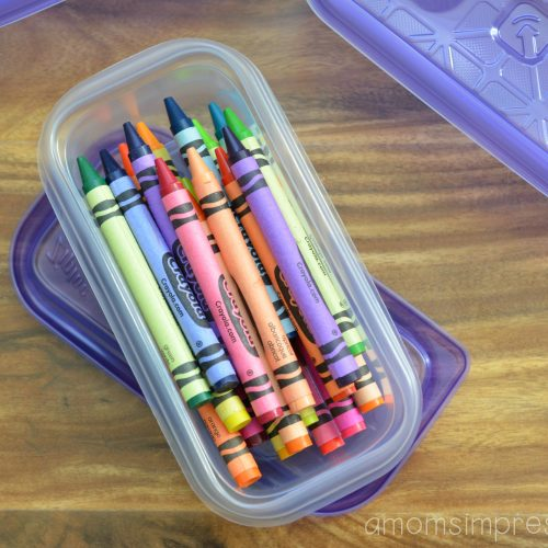 Crayola Crayons in Containers