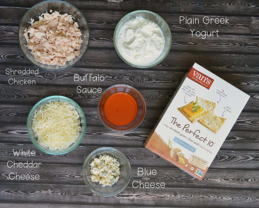 Ingredients chicken dip