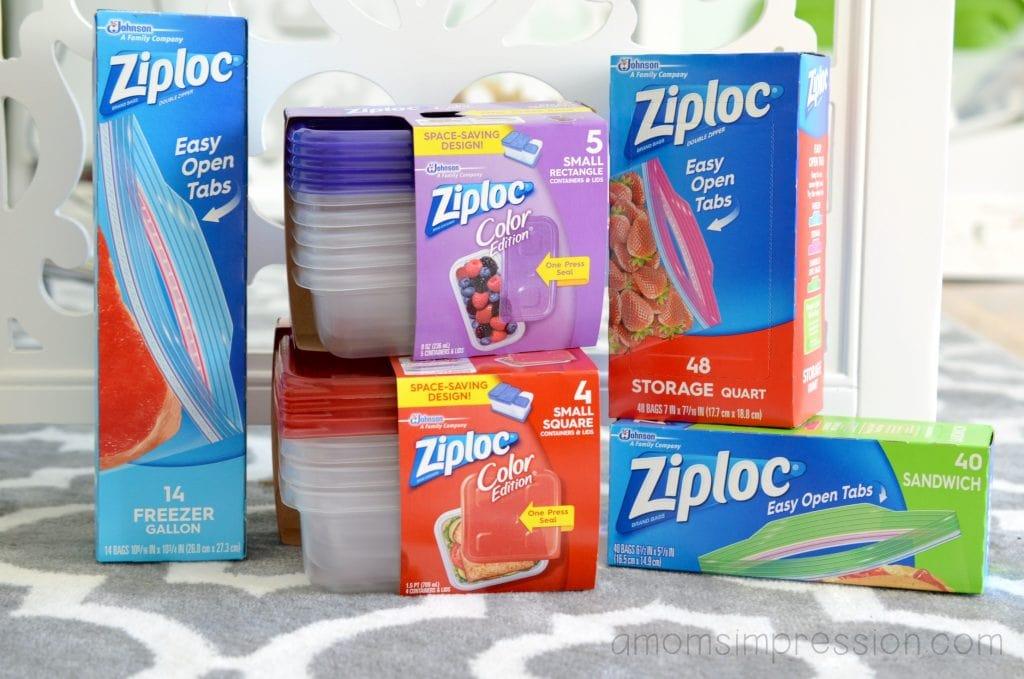 Ziploc products