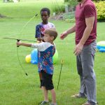 Teaching Kids About the Summer Games with fun Backyard Activities