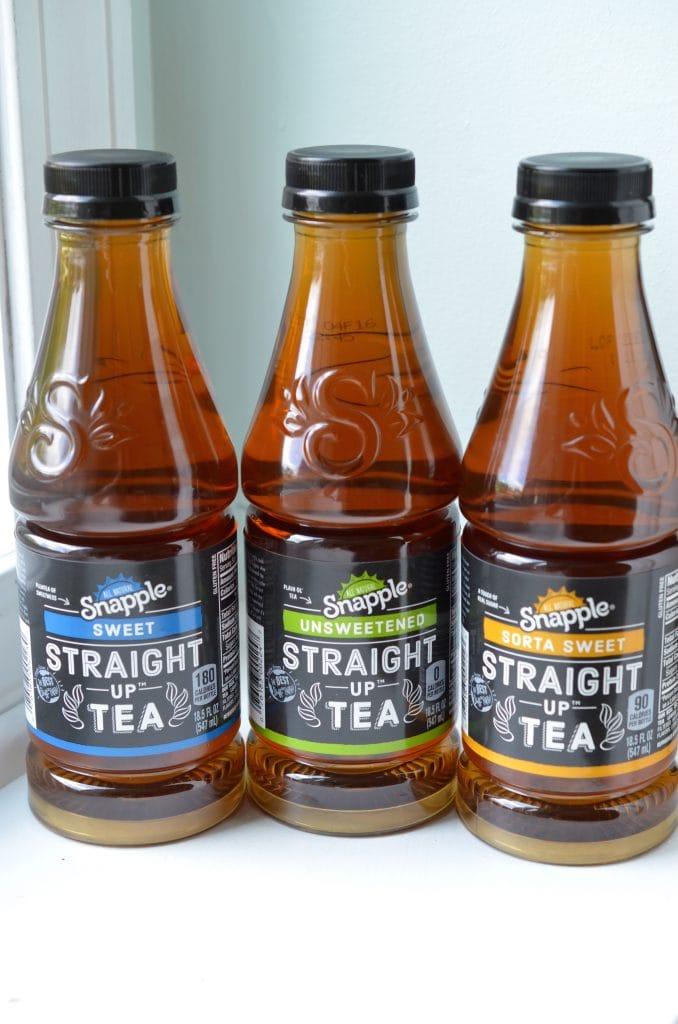 Snapple Straight UP Tea