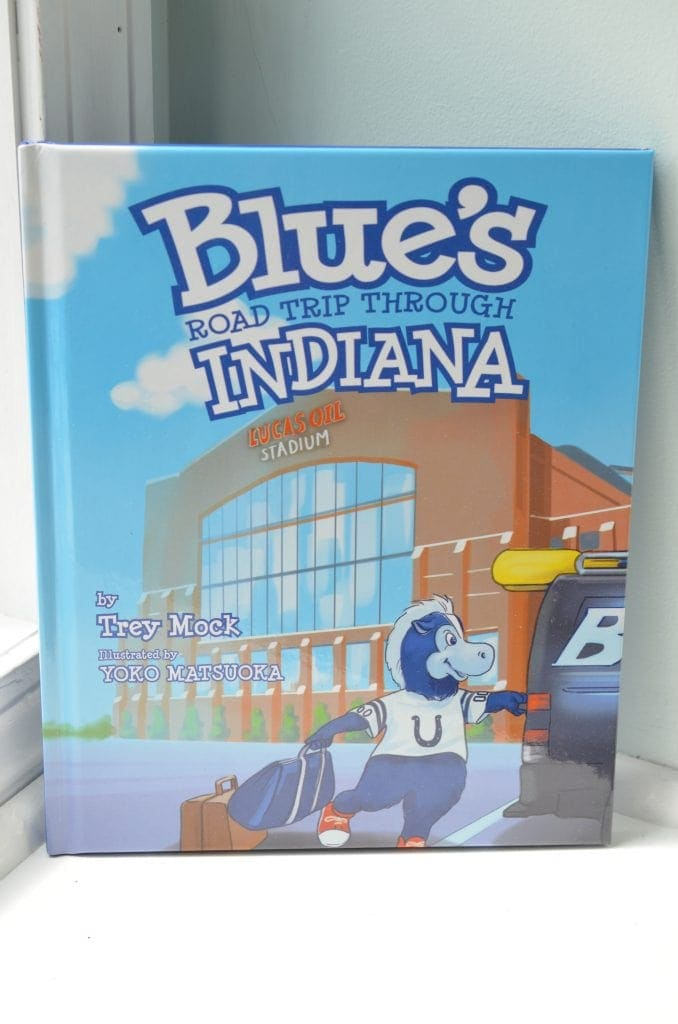 Blue's Road Trip Through Indiana