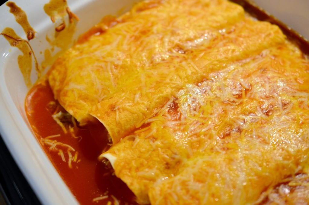 Simple Enchiladas