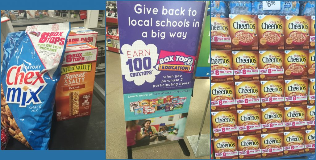 Box Tops at Sam's Club