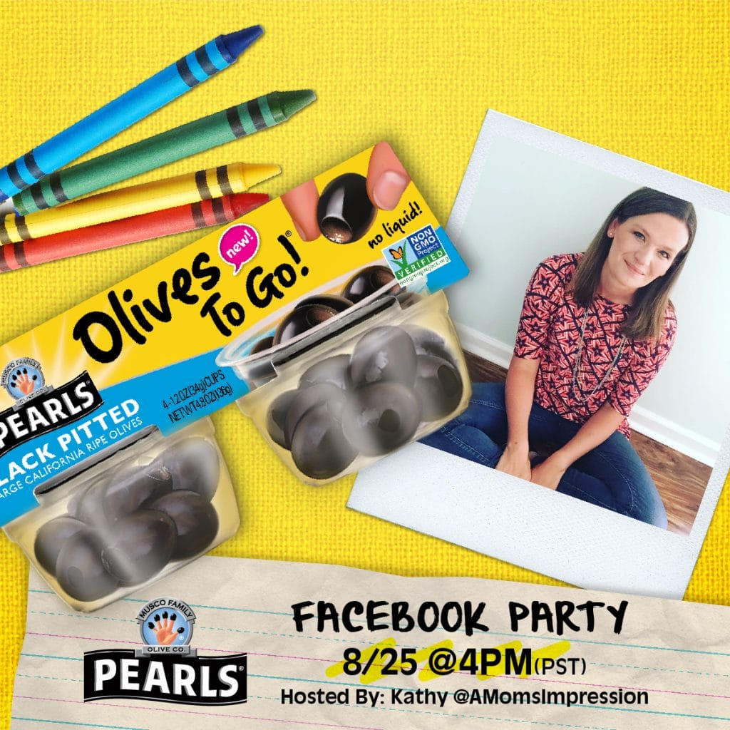 Olives to go FacebookParty