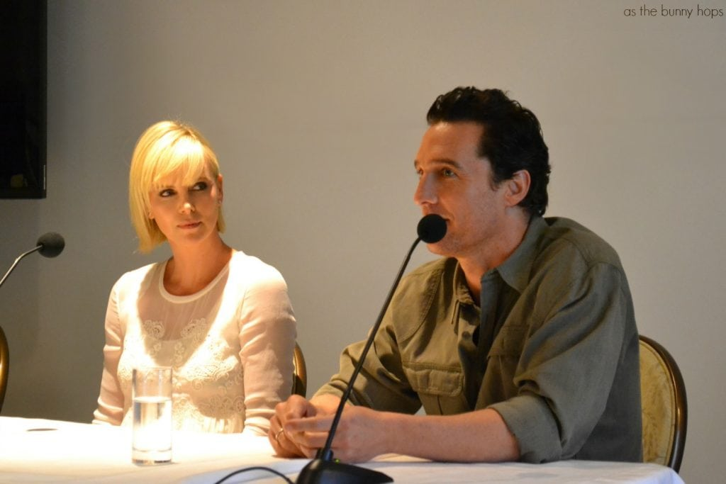 Charlize Theron and Matthew McConaughey