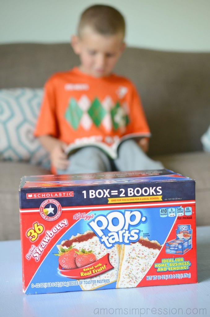 Pop Tarts Reading