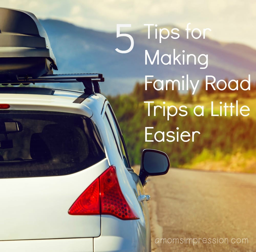 5 Tips for Making Family Road Trips a Little Easier