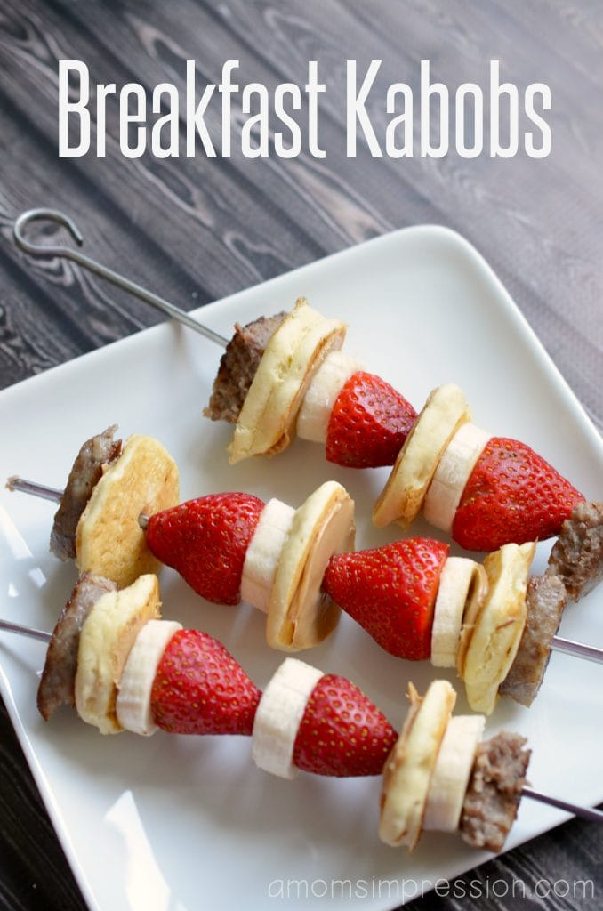 Jazz up your morning breakfast routine with these delicious good morning breakfast kabobs! This is a staple breakfast recipe that is easy to make and so yummy! #ad #breakfastrecipes