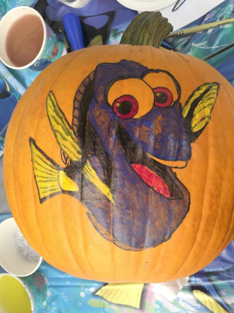painted-pumpkin