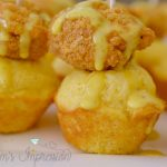 Chicken and Cornbread Bites with Homemade Honey Mustard Sauce