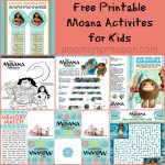 Fun and Free Moana Activities for Kids