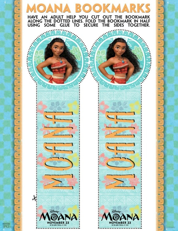 moana-bookmark