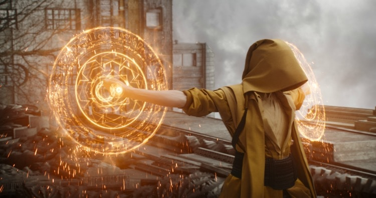 Marvel's DOCTOR STRANGE The Ancient One (Tilda Swinton) Photo Credit: Film Frame ©2016 Marvel. All Rights Reserved.